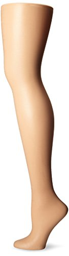L'eggs Women's Silken Mist 2 Pair Control Top Silky Sheer Leg Panty Hose,Nude,B