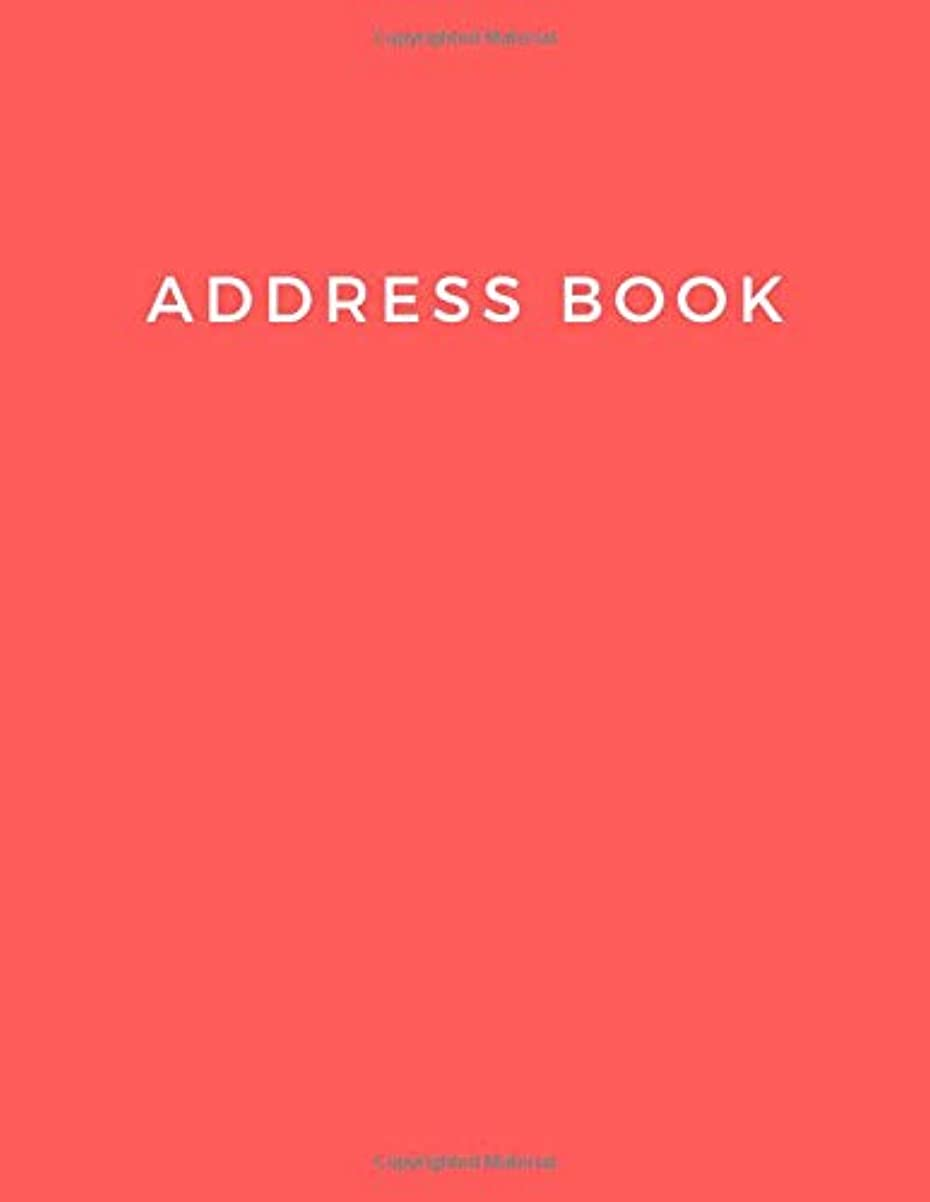 誤解させるフルーティー財政Address Book: Large Print. Telephone and Address Book. Alphabetical Organizer Journal Notebook (Addresses, Phone Numbers, Emails & Birthday). Red Soft Cover
