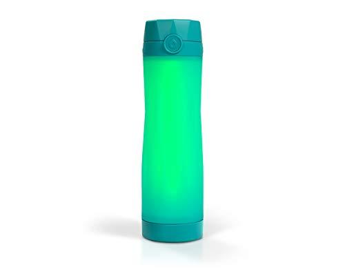 Hidrate Spark 3 Botella de Agua Inteligente, rastrea la Ingesta de Agua y se Ilumina para recordarle Que Debe Mantenerse hidratado, sin BPA, 20 oz, Buceo