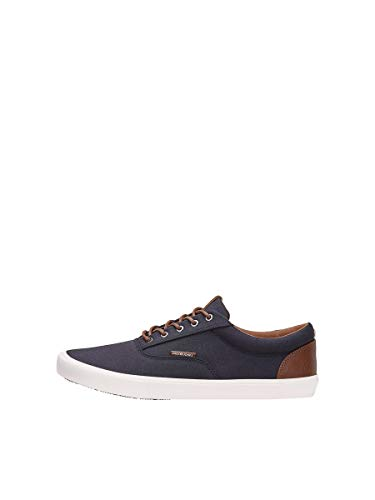 JACK & JONES Male Sneaker Canvas 44Navy Blazer
