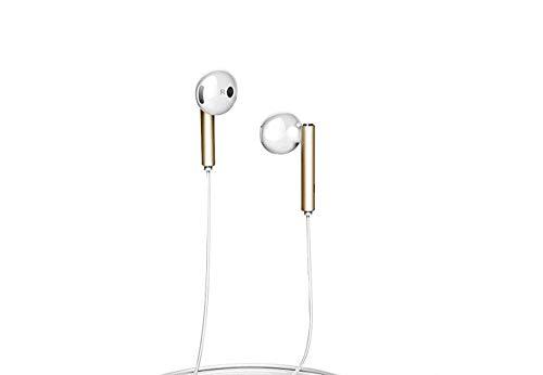 Huawei AM116 Auricolari a Filo, con telecomando e microfono, Bianco