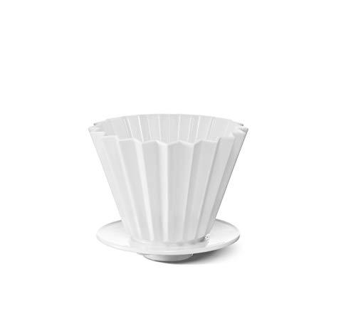 Kaffeefilter Größe 2 Porzellan von KPM Berlin - Kaffeefilter handgemacht - Dripper - Handmade & als Geschenk verpackt - Der handgemachte Filter für EIN außergewöhnliches Geschmackserlebnis - Weiß