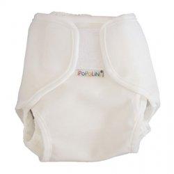 Popolini Popowrap Uni Weiß, Größe S für 3-6kg