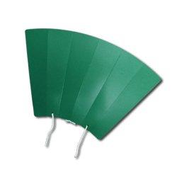 [プロモ] 丸めてメガホン (緑色) [野球 サッカー スポーツ 応援 グッズ] 体育祭 イベント