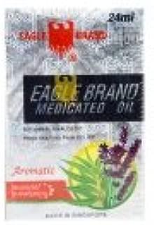 Eagle Brand Medicated Oil Aromatic Lavender Eucalyptus - 12 bottles (24 ml each)