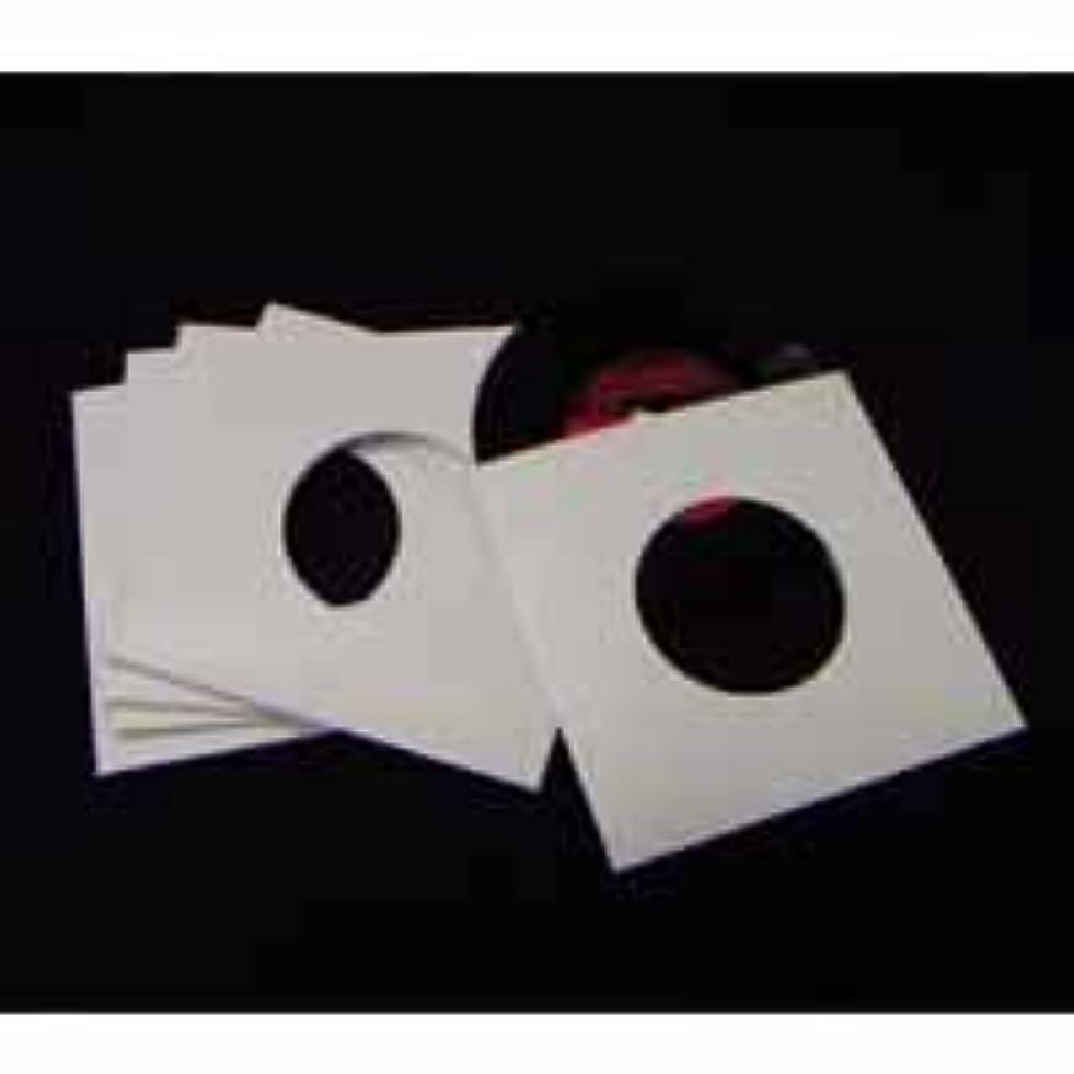 トリップ毒専門知識EP(7インチ)レコードジャケットスリーブ穴空き20枚セット (ホワイト)