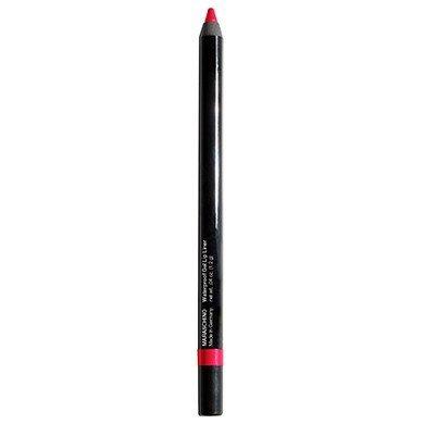 Jolie Cosmetics, matita per labbra in gel impermeabile, super liscia, extra lunga durata (Maraschina)