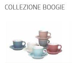 Andrea Fontebasso Confezione 6 Tazze caffè con Piatto Collezione Boogie