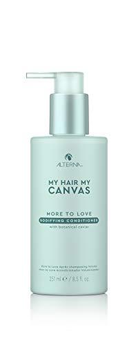 Alterna Haircare Mi pelo mi lienzo More to Love acondicionador vegano tonificante, 8.5 fl oz | Caviar botánico, aporta plenitud y movimiento al cabello | Sin sulfatos