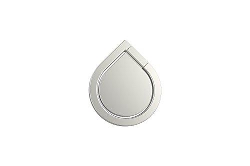 360° drehbarer Smartphone Fingerhalter (Silber) - 5