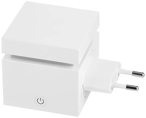 Ipuro Pearls Plug-In Cube - Extra leiser Aroma Diffusor zum selbst Befüllen - Elektronischer Raumduft für unterwegs - Perfekt für Reisen, Zuhause, Büro, Yoga und Wellness