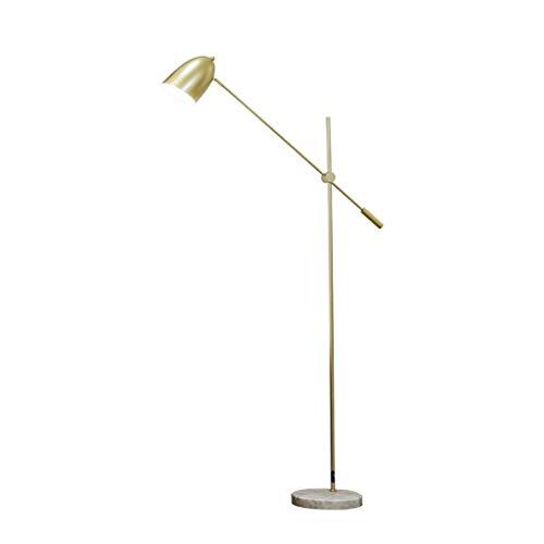EIU Nordic Vloerlamp Bank Decoratie Vloerlamp Eenvoudige Moderne Amerikaanse Messing Visserslamp Golden W1/4