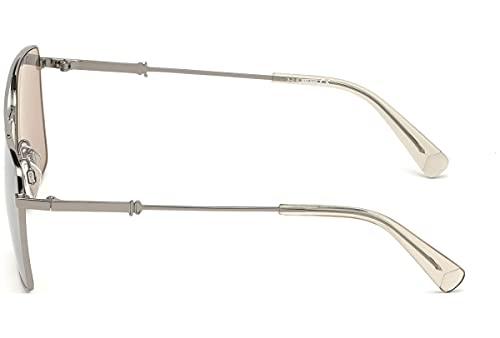 Just Cavalli JC909S-08G-58 - unisex Gafas de sol - Shiny Gumetal
