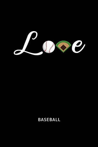 Love Baseball: Baseball Sports Journal. College Ruled Notebook for Players and Coaches.