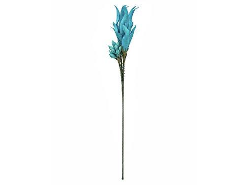 Unbekannt EUROPALMS Magic Yucca Zweig türkis, 105cm, Kunstpflanze