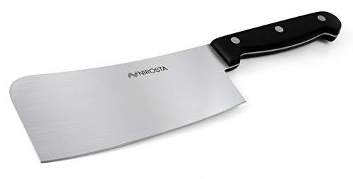 Fackelmann Carnicero Profesional/Macheta Cocina Japonesa Mega, 27x6,7cm, 1ud, Negro/Inoxidable, 27cm