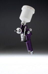 Starchem - Pistole Mini Nachbesserungen 0.8 mm HVLP - Gold