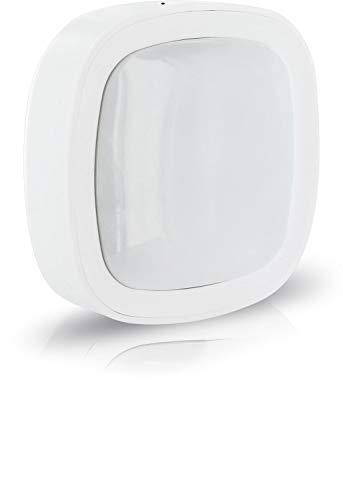 SCHWAIGER -ZHS21- Bewegungsmelder für den Innenbereich | Bewegungssensor | smarte Lichtsteuerung | Zigbee | Smart Home | Steuerung per App | Gateway benötigt | Sprachsteuerung mit Alexa, Google