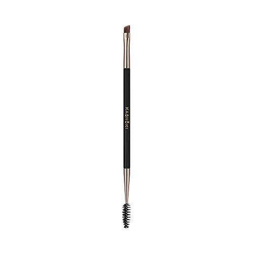 T4B KASHOKI 412 LASH BROW BRUSH Pinceau Professionnel Double Pour Maquillage Cils Et Sourcils, 1 Piece