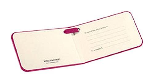 Moleskine Etichetta Valigia per Bagaglio da Stiva Copertina Rigida e Chiusura ad Elastico, 9 x 7 x 6 cm, Magenta