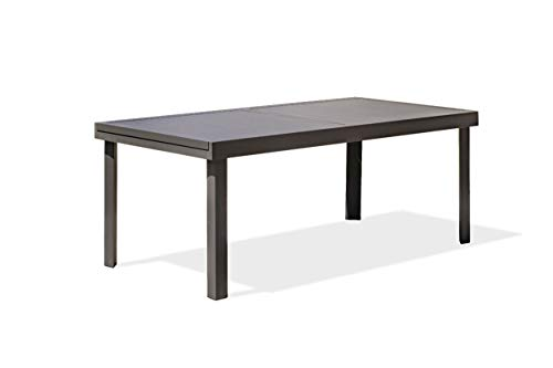 DCB GARDEN COPENHAGUE Table de Jardin, Anthracite