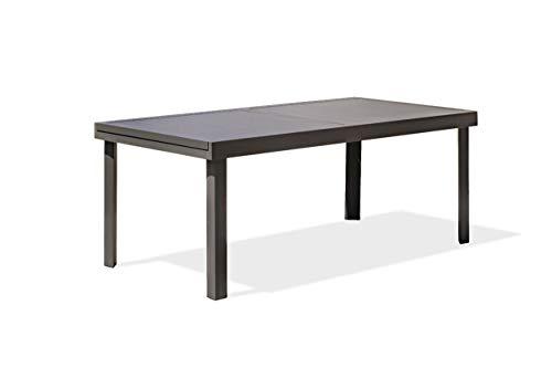 DCB GARDEN COPENHAGUE Table de Jardin, Anthracite