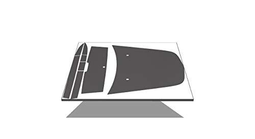 Charger Phoenix Graphix Replacement for 2005 2006 2007 2008 2009 2010 Dodge Daytona Decals & Stripes Kit - Black