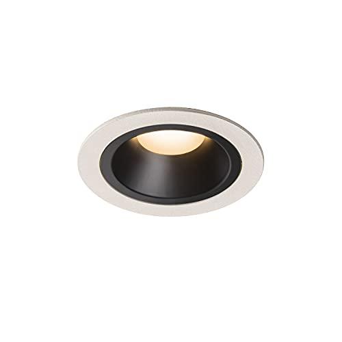 SLV Numinos DL M/LED, Foco de Techo, lámpara empotrable, iluminación Interior, IP20/IP44, 2700 K, 17,55 W, 1460 LM, Color Blanco, 55 Grados