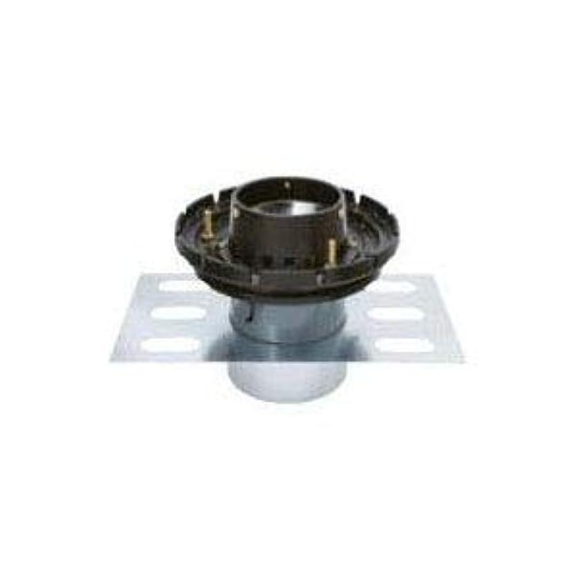 コンサート補助金有能なカネソウ 鋳鉄製ルーフドレイン たて引き用(呼称50) ※メーカー直送代引不可 EDSJW-1-50