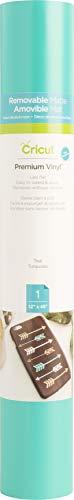 "Cricut Premium Vinyl - Permanent, 12"" x 48"" Adhesive Decal Roll - Sky Blue"