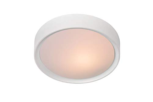 Lucide LEX plafondlamp, Ø 25 cm, wit