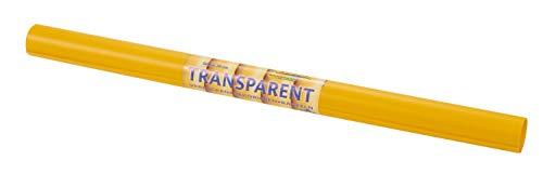 Folia Transparentpapier Extra stark einfarbig 70x50cm 115g/qm Gelb