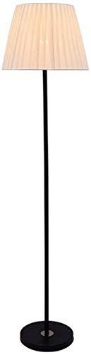 SAFGH Lámpara de pie Moderna Regulable, lámpara de pie con Mando a Distancia, Pantalla de Tela, luz de Lectura, Sala de Estar, Dormitorio, niño