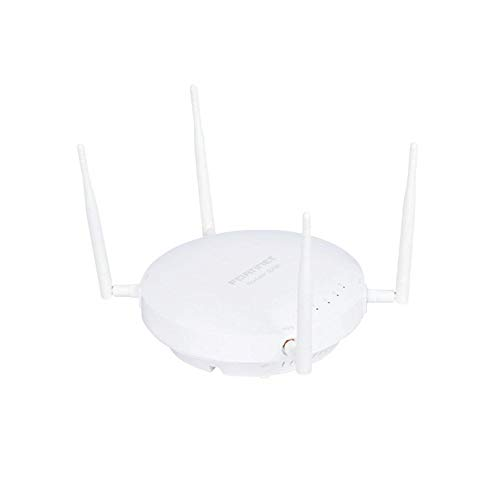 Fortinet | FAP-223E-A | FortiAP-223E Indoor Wireless Wave 2 AP - Dual Radio (802.11 a/b/g/n and 802.11 a/n/ac, 2x2 MU-MIMO), 1 x GE RJ45 Port, Ceiling/Wall Mount kit, 4 External Antennas Included.