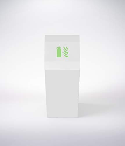 Caja Diseño Opus, Armario Extintor 6L de Agua o Espuma, 6kg de Polvo, Extintor CO2 2kg
