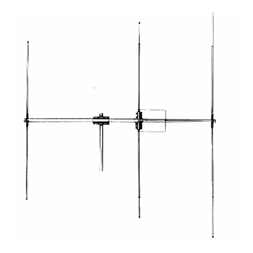 Antena CB básica DIRECTIVA LEMM D3, 3 Elementos, 26-30 MHz, 1200W, Ganancia 9dB, Longitud 270 cm, Resistencia al Viento 150km / h, Made in Italy
