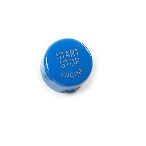 Ninuypoy Botones del Interruptor de Encendido del Motor de Arranque y Parada del Coche, para BMW F30 F10 F34 F15 F25 F48 X1 X3 X4 X5 Botón de Arranque sin Llave Carcasa