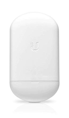 Ubiquiti Networks AirMAX 5G NanoStation AC Loco, LOCO5AC (CPE with 13dBi Antenna, 450+ Mbps, PoE Injector not included)
