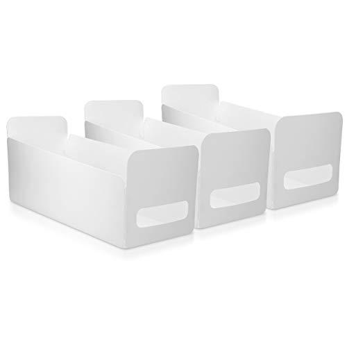Navaris Set de 3 Cajas de Almacenamiento para la Cocina y el