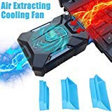 Read About Bestyu Mini Vacuum Air Extracting USB Cooling Pad Cooler Fan For Macbook Pro Dell HP Note...