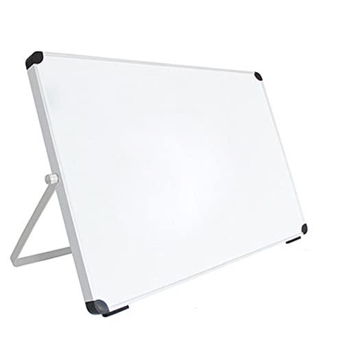 QinWenYan Pizarras Blancas Pequeña Pizarra de Soporte Tipo de Escritorio Blackboard Plegable Portátil Portátil Tablero de Escritura Mini Tablero de Dibujo para Casa (Color : White, Size : 25x35cm)