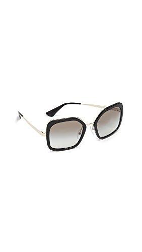 Prada 0pr 57us Montures de lunettes, Noir (Black), 54 Femme