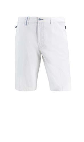 Brühl - Comfort Fit - Herren Flatfrontshort, Bilbao (0605181710100), Größe:29, Farbe:Weiß (980)