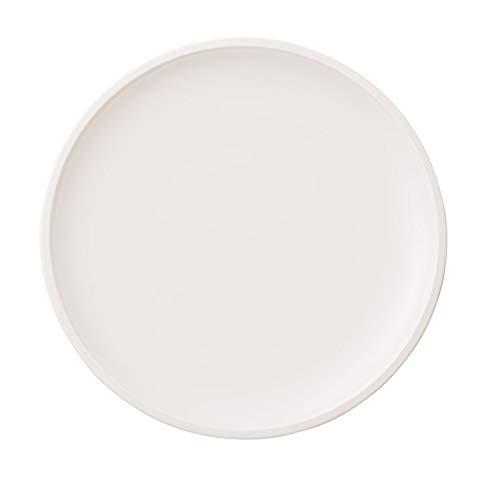 Villeroy & Boch - Artesano Original Speiseteller, 27 cm, ideal für Hauptspeisen, Premium Porzellan, spülmaschinen-, mikrowellengeeignet, weiß