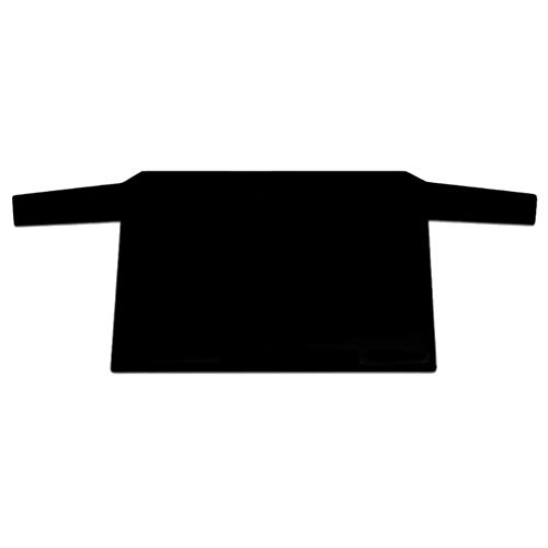 Wakauto Auto Windschutzscheibe Frostschutz Anti-UV Premium wasserdicht Staubschutz und Eisschutz bei jedem Wetter für Heckscheibe schwarz (140x90cm)
