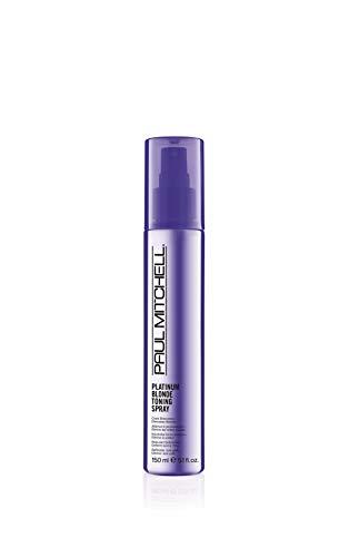 Paul Mitchell Platinum Blonde Toning Spray - Violett Haar-Pflege für blondes, graues oder weißes Haar, Haar-Treatment gegen Gelbstich, 150 ml