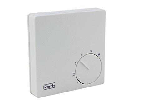 Roth Basicline H/C 230V, Raumthermostat, Raumregler, 1135007406
