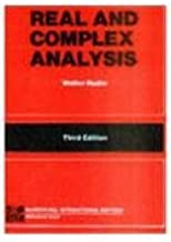 By Rudin - Real & Complex Analysis (1905-06-24) [Paperback]