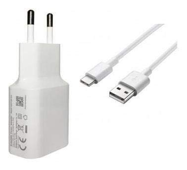 Movilux_ES Cargador USB Modelo MDY-09-EW con Cable USB Tipo C, Compatible con Xiaomi Redmi Note 7/ Pro