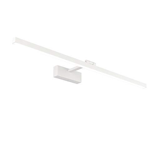 Klighten Lámpara LED de Espejo 18W 1170LM Lámpara de espejo Aplique 80cm 5500K Luz natural para Espejo Muebles de Maquillaje Aparato Montado en la Pared